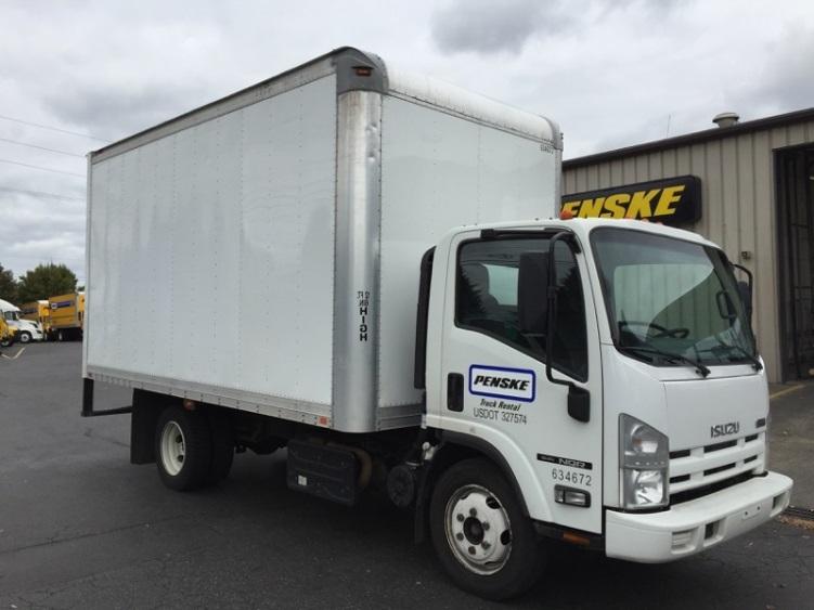 Medium Duty Box Truck-Light and Medium Duty Trucks-Isuzu-2012-NQR-PORTLAND-OR-129,575 miles-$32,250