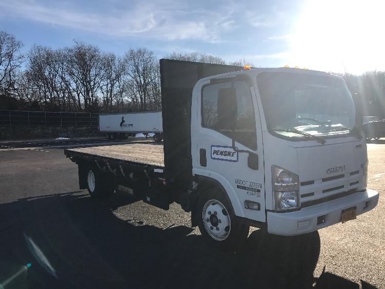 Flatbed Truck-Light and Medium Duty Trucks-Isuzu-2012-NRR-CRANSTON-RI-60,075 miles-$33,250