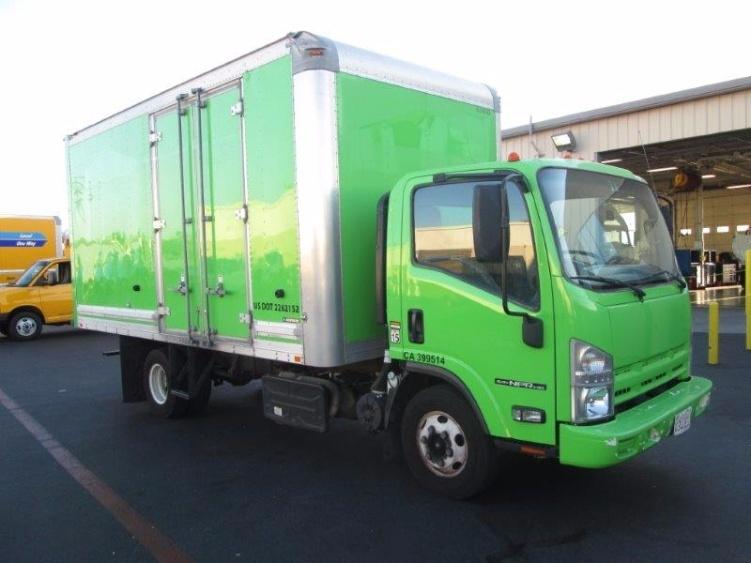 Medium Duty Box Truck-Light and Medium Duty Trucks-Isuzu-2012-NPR-TORRANCE-CA-53,293 miles-$30,750
