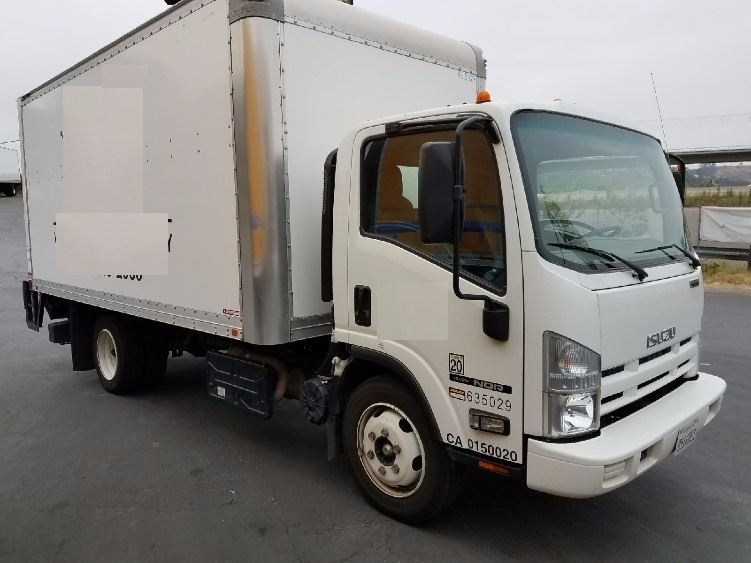 Medium Duty Box Truck-Light and Medium Duty Trucks-Isuzu-2012-NQR-TORRANCE-CA-95,445 miles-$38,250