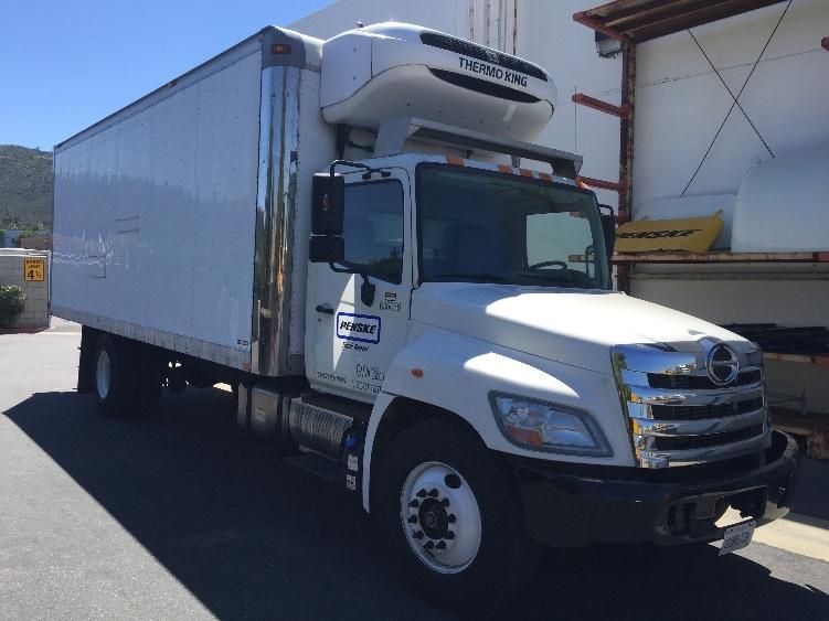 Reefer Truck-Light and Medium Duty Trucks-Hino-2013-268-FARGO-ND-166,784 miles-$44,500