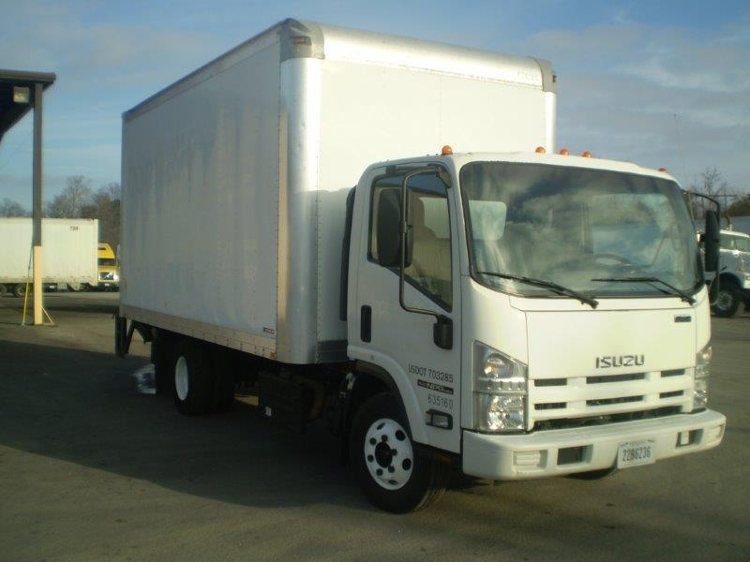 Medium Duty Box Truck-Light and Medium Duty Trucks-Isuzu-2012-NPR-BOAZ-AL-113,597 miles-$30,250
