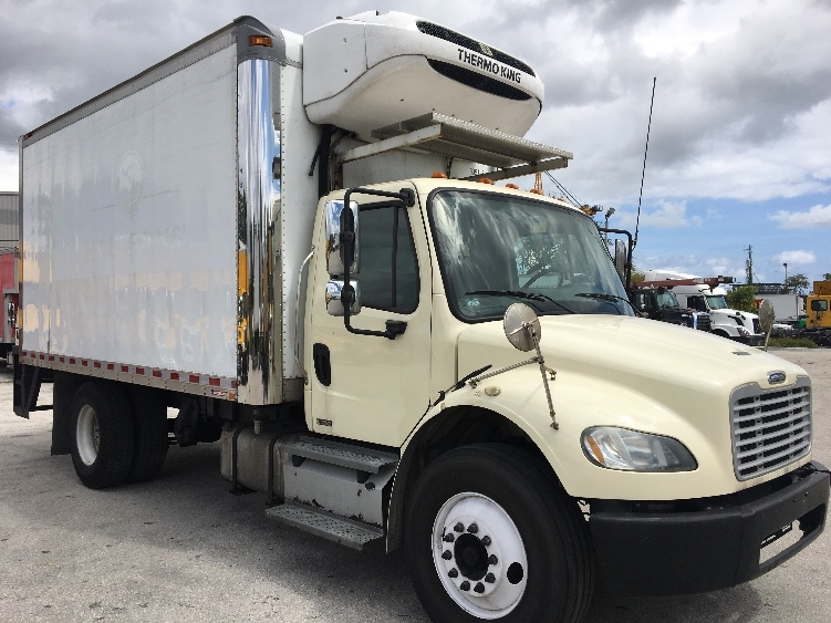 Reefer Truck-Light and Medium Duty Trucks-Freightliner-2012-M2-POMPANO BEACH-FL-158,994 miles-$34,000