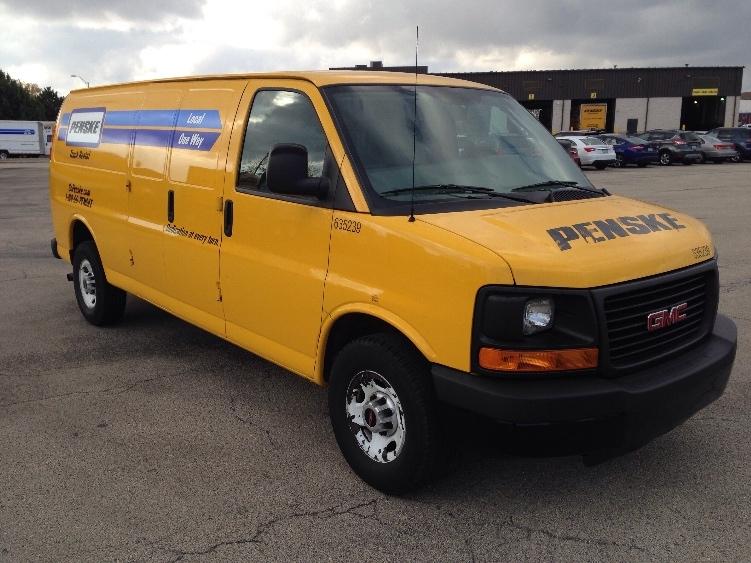 Cargo Van (Panel Van)-Light and Medium Duty Trucks-GMC-2012-Savana G23705-ELK GROVE VILLAGE-IL-90,203 miles-$13,500