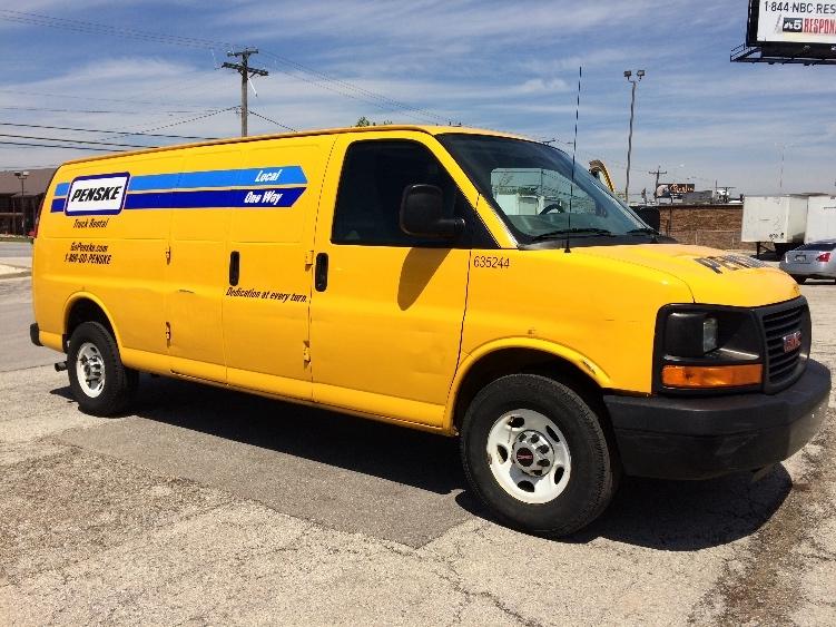 Cargo Van (Panel Van)-Light and Medium Duty Trucks-GMC-2012-Savana G23705-STICKNEY-IL-90,732 miles-$13,500