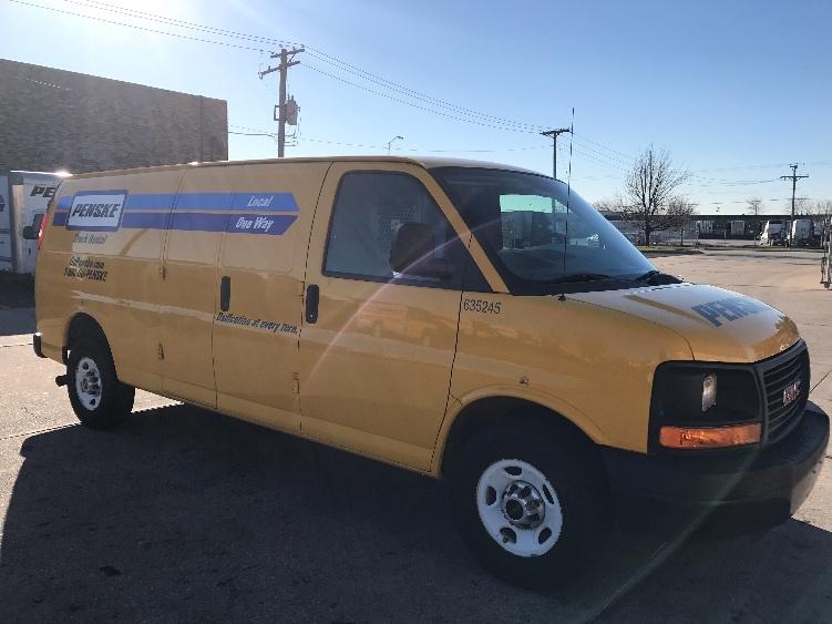 Cargo Van (Panel Van)-Light and Medium Duty Trucks-GMC-2012-Savana G23705-ROMEOVILLE-IL-93,167 miles-$13,250