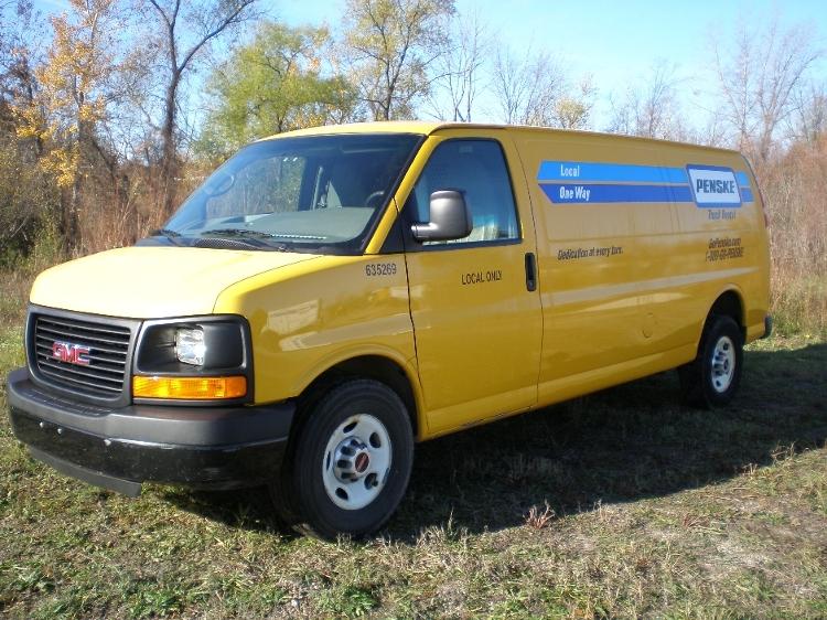 Cargo Van (Panel Van)-Light and Medium Duty Trucks-GMC-2012-Savana G23705-TRAVERSE CITY-MI-124,505 miles-$10,250