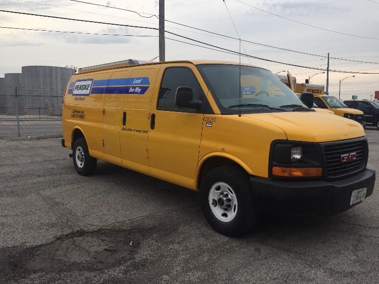 Cargo Van (Panel Van)-Light and Medium Duty Trucks-GMC-2012-Savana G23705-ROMEOVILLE-IL-83,638 miles-$14,250