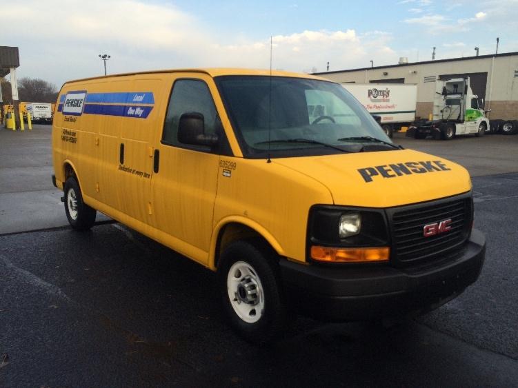 Cargo Van (Panel Van)-Light and Medium Duty Trucks-GMC-2012-Savana G23705-ROSEVILLE-MN-95,600 miles-$13,250