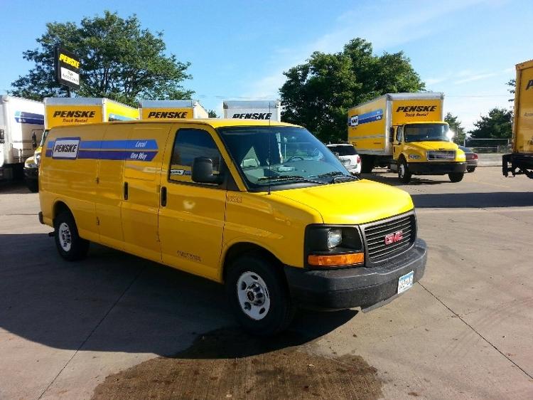 Cargo Van (Panel Van)-Light and Medium Duty Trucks-GMC-2012-Savana G23705-ROSEVILLE-MN-68,853 miles-$15,500