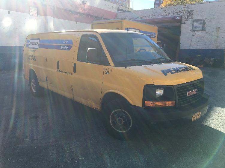 Cargo Van (Panel Van)-Light and Medium Duty Trucks-GMC-2012-Savana G23705-ELMSFORD-NY-76,180 miles-$15,500