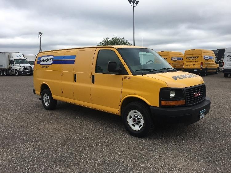 Cargo Van (Panel Van)-Light and Medium Duty Trucks-GMC-2012-Savana G23705-ROSEVILLE-MN-95,993 miles-$13,250