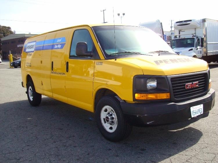 Cargo Van (Panel Van)-Light and Medium Duty Trucks-GMC-2012-Savana G23705-SAN LEANDRO-CA-111,182 miles-$11,000