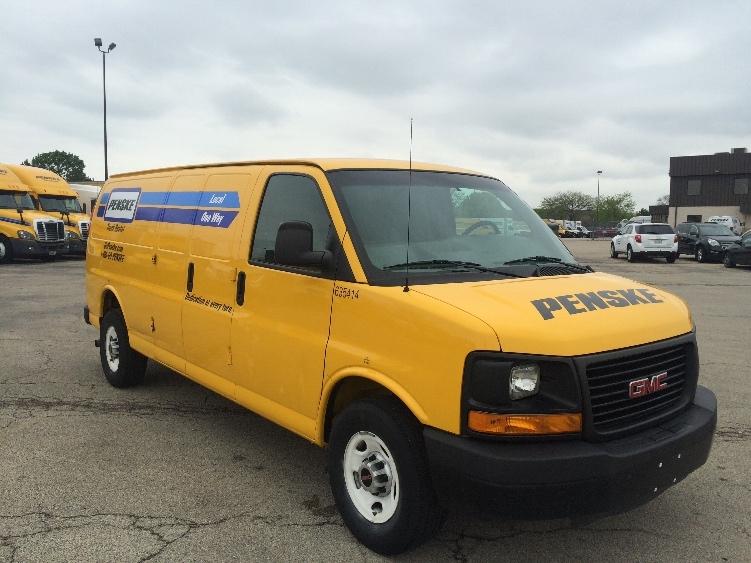 Cargo Van (Panel Van)-Light and Medium Duty Trucks-GMC-2012-Savana G23705-STICKNEY-IL-99,119 miles-$12,750