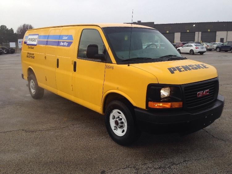 Cargo Van (Panel Van)-Light and Medium Duty Trucks-GMC-2012-Savana G23705-ROMEOVILLE-IL-95,613 miles-$13,000