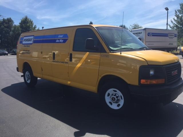 Cargo Van (Panel Van)-Light and Medium Duty Trucks-GMC-2012-Savana G23705-NEW CASTLE-DE-103,187 miles-$11,250