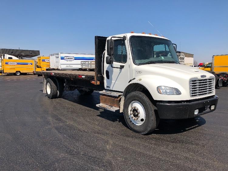 Flatbed Truck-Light and Medium Duty Trucks-Freightliner-2012-M2-TULSA-OK-200,655 miles-$29,750
