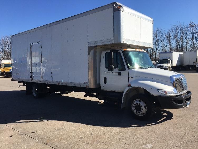 Medium Duty Box Truck-Light and Medium Duty Trucks-International-2012-4300M7LP-HARTFORD-CT-84,206 miles-$25,250