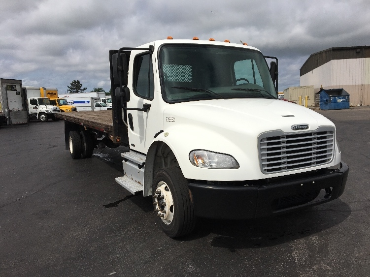 Flatbed Truck-Light and Medium Duty Trucks-Freightliner-2012-M2-TULSA-OK-271,001 miles-$28,750