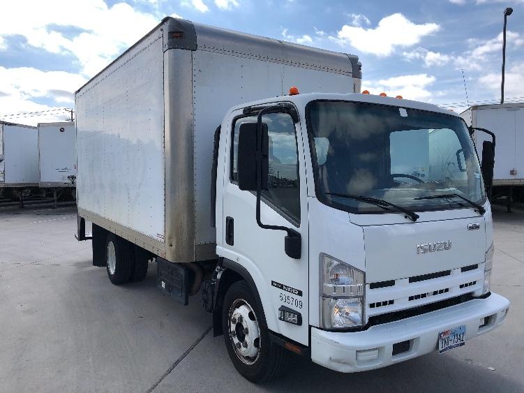Medium Duty Box Truck-Light and Medium Duty Trucks-Isuzu-2012-NRR-ARLINGTON-TX-139,491 miles-$25,000