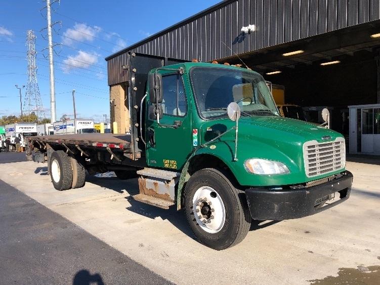 Flatbed Truck-Light and Medium Duty Trucks-Freightliner-2012-M2-NORTH BERGEN-NJ-134,295 miles-$30,000