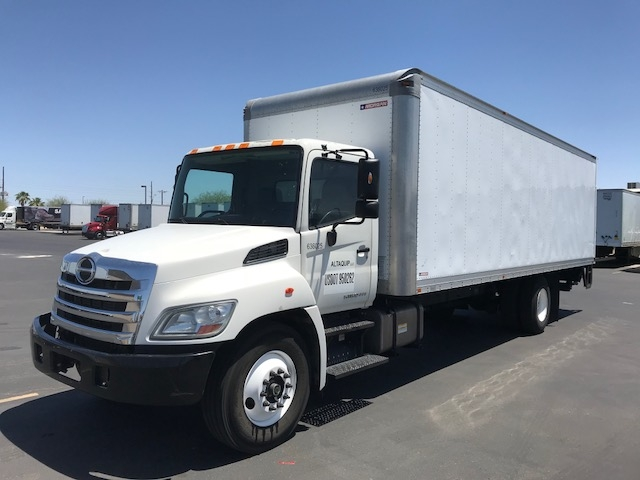 Medium Duty Box Truck-Light and Medium Duty Trucks-Hino-2013-268-PHOENIX-AZ-286,644 miles-$25,000
