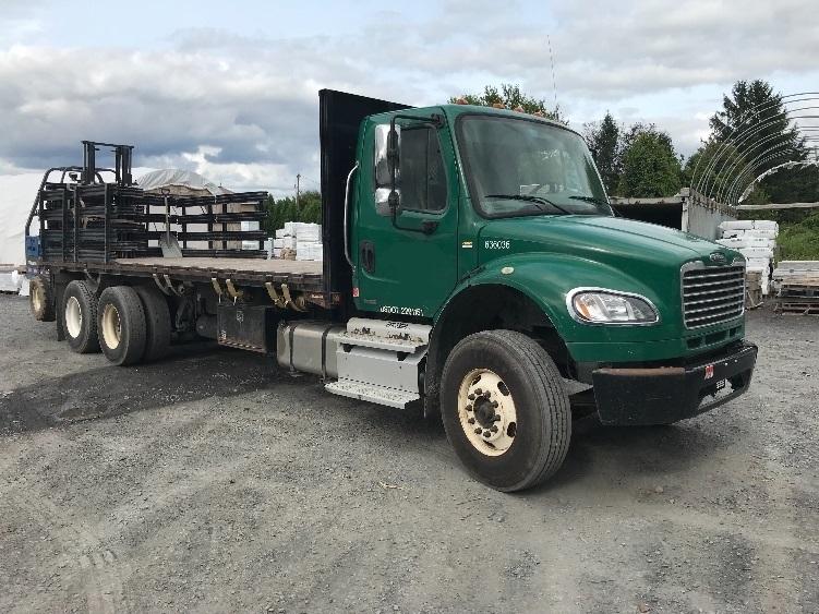 Flatbed Truck-Light and Medium Duty Trucks-Freightliner-2012-M2-BETHLEHEM-PA-183,675 miles-$44,500