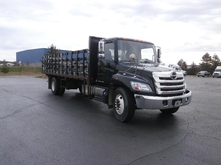 Flatbed Truck-Light and Medium Duty Trucks-Hino-2013-338-ROCHESTER-NY-215,045 miles-$21,500