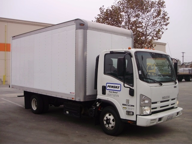 Medium Duty Box Truck-Light and Medium Duty Trucks-Isuzu-2012-NPR-TORRANCE-CA-98,263 miles-$31,250