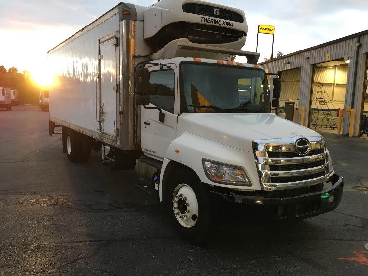 Reefer Truck-Light and Medium Duty Trucks-Hino-2013-338-CHICOPEE-MA-256,870 miles-$21,500