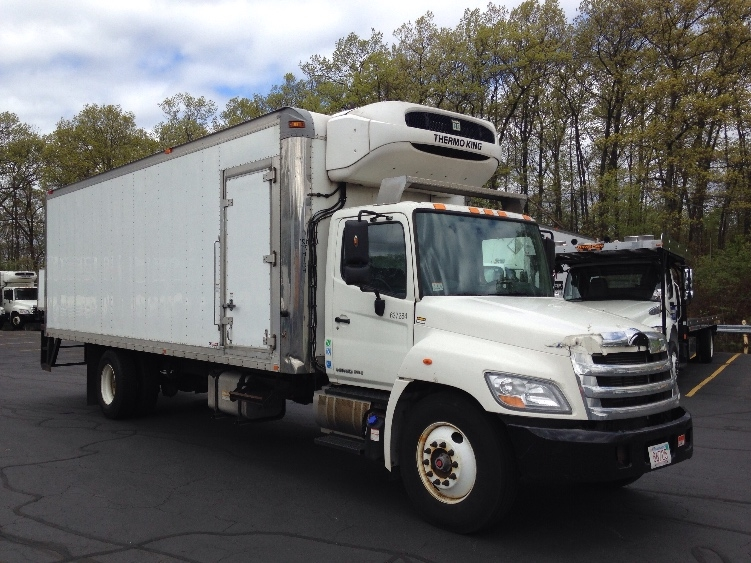Reefer Truck-Light and Medium Duty Trucks-Hino-2013-338-BRAINTREE-MA-189,410 miles-$26,500