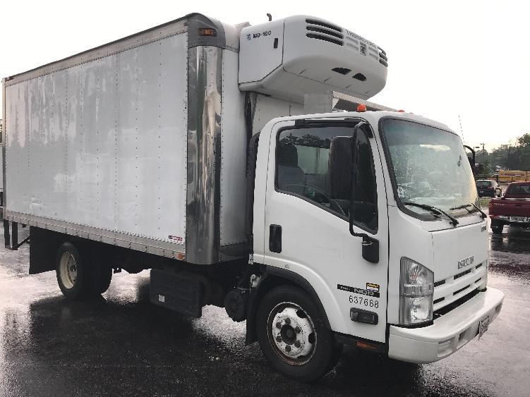 Reefer Truck-Light and Medium Duty Trucks-Isuzu-2012-NQR-JESSUP-MD-134,252 miles-$33,500