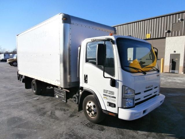 Medium Duty Box Truck-Light and Medium Duty Trucks-Isuzu-2012-NPR-WEST HAVEN-CT-153,884 miles-$21,500