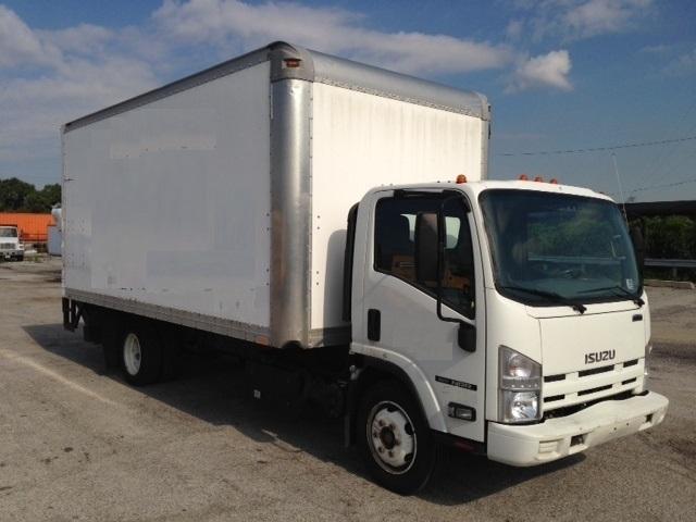 Medium Duty Box Truck-Light and Medium Duty Trucks-Isuzu-2012-NRR-STICKNEY-IL-110,581 miles-$34,250
