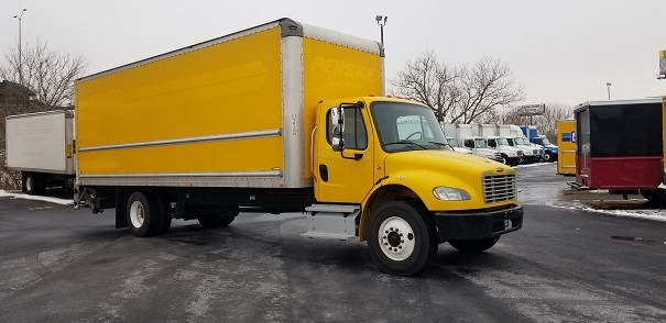 Medium Duty Box Truck-Light and Medium Duty Trucks-Freightliner-2013-M2-ROMEOVILLE-IL-172,220 miles-$38,250