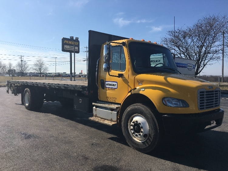 Flatbed Truck-Light and Medium Duty Trucks-Freightliner-2013-M2-FREDERICK-MD-194,678 miles-$32,250