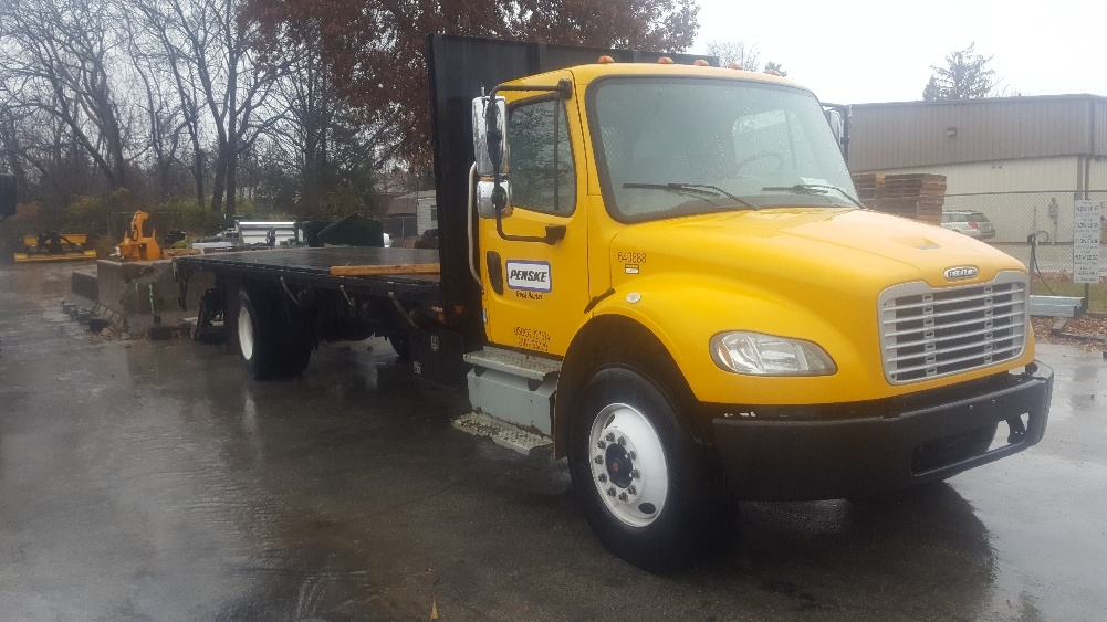 Flatbed Truck-Light and Medium Duty Trucks-Freightliner-2013-M2-READING-PA-108,103 miles-$52,750