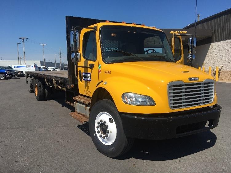 Flatbed Truck-Light and Medium Duty Trucks-Freightliner-2013-M2-NORTH BERGEN-NJ-149,279 miles-$35,750