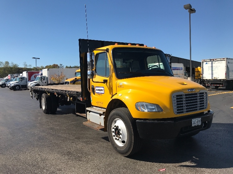 Flatbed Truck-Light and Medium Duty Trucks-Freightliner-2013-M2-BALTIMORE-MD-145,486 miles-$37,500