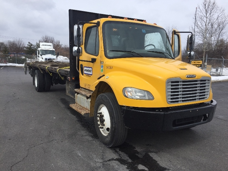 Flatbed Truck-Light and Medium Duty Trucks-Freightliner-2013-M2-WATERBURY-CT-159,130 miles-$34,750