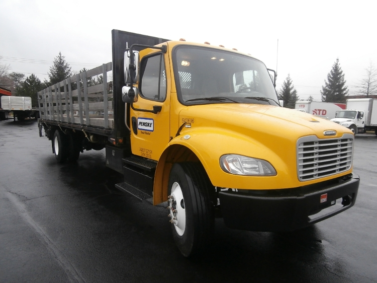 Flatbed Truck-Light and Medium Duty Trucks-Freightliner-2013-M2-ALBANY-NY-120,328 miles-$43,750