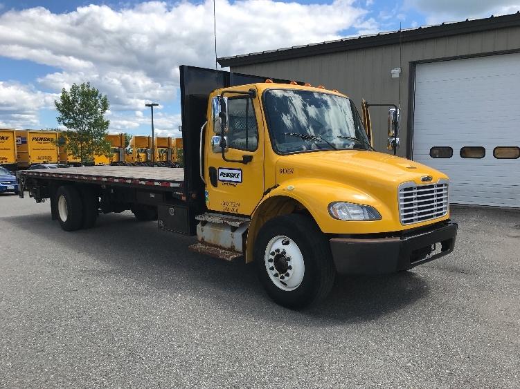 Flatbed Truck-Light and Medium Duty Trucks-Freightliner-2013-M2-MEDFORD-MA-138,610 miles-$44,250