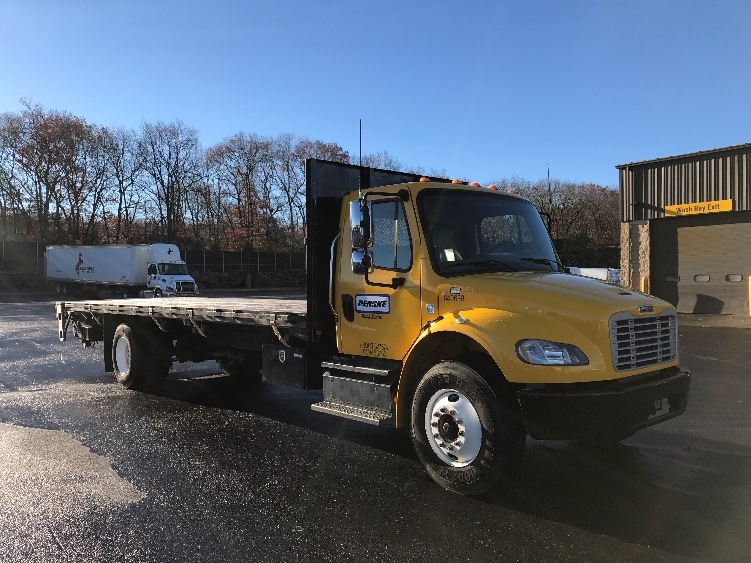 Flatbed Truck-Light and Medium Duty Trucks-Freightliner-2013-M2-FRANKLIN-MA-80,759 miles-$52,500
