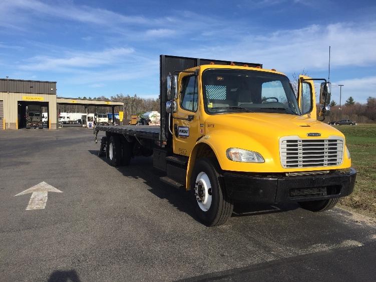 Flatbed Truck-Light and Medium Duty Trucks-Freightliner-2013-M2-BRAINTREE-MA-157,886 miles-$42,000