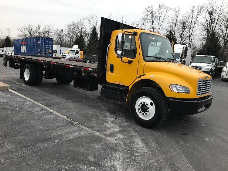 Flatbed Truck-Light and Medium Duty Trucks-Freightliner-2013-M2-BENSALEM-PA-247,186 miles-$26,250