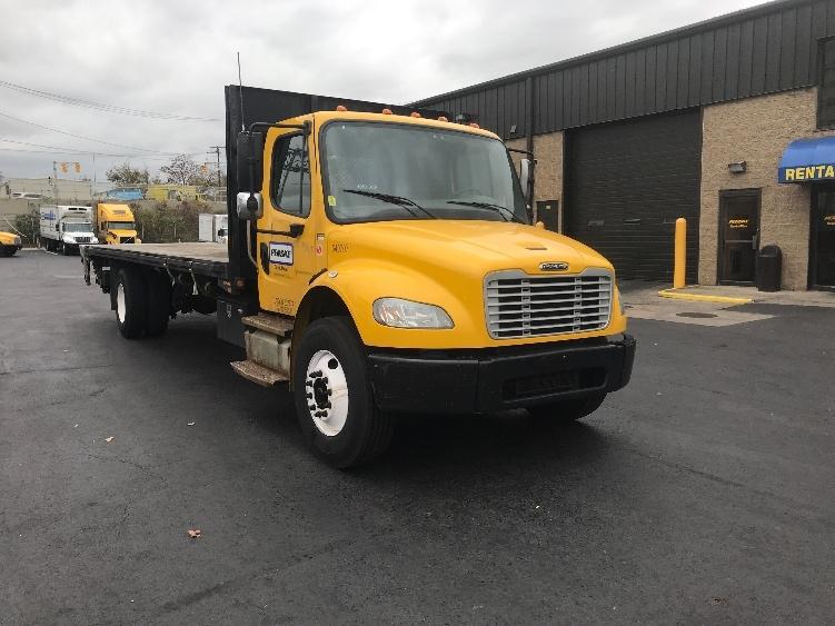 Flatbed Truck-Light and Medium Duty Trucks-Freightliner-2013-M2-NORTH BERGEN-NJ-146,123 miles-$36,250
