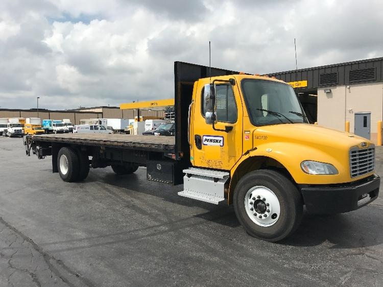 Flatbed Truck-Light and Medium Duty Trucks-Freightliner-2013-M2-ELK GROVE VILLAGE-IL-204,460 miles-$38,250