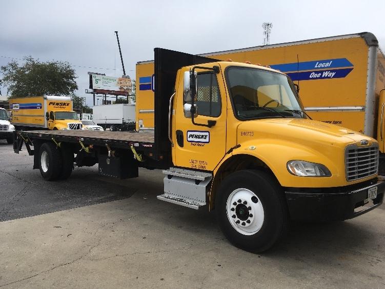 Flatbed Truck-Light and Medium Duty Trucks-Freightliner-2013-M2-ORLANDO-FL-189,670 miles-$38,750