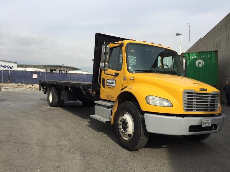 Flatbed Truck-Light and Medium Duty Trucks-Freightliner-2013-M2-MONTEBELLO-CA-130,264 miles-$53,750