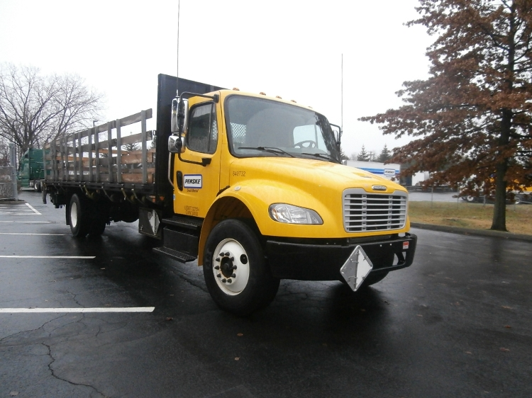 Flatbed Truck-Light and Medium Duty Trucks-Freightliner-2013-M2-ALBANY-NY-94,629 miles-$46,500